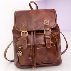 Classical Leisure PU Summer College Backpacks