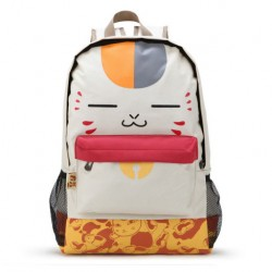 Cute Cartoon Cat Backpack College Large Capacity Shoulder Bag