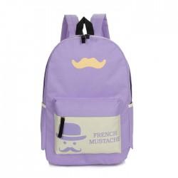 Summer Beard Pattern Travelling Bags School Backpacks