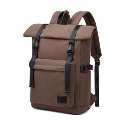 Leisure Waterproof Backpack Business Computer Bag Double Buckle Outdoor Laptop Travel Backpack