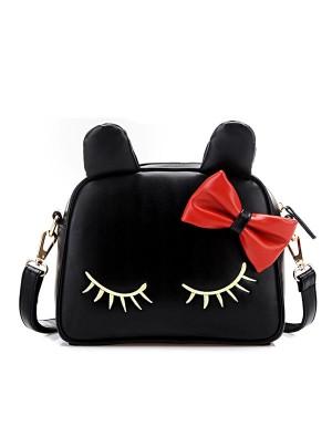 Cute Cat Bow Mini Shoulder Bag Messenger Bag