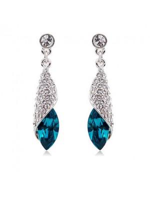 Miss Sea Elegant Fashion Crystal Earrings