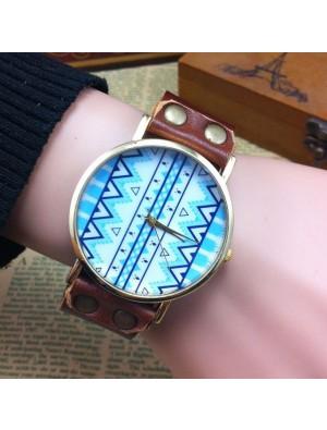 Original Geometric Totem Retro Watch