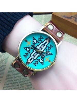 Retro Original Geometric Shape Watch