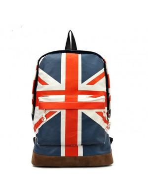 Fashion Canvas British Flag BackPack&Shoulder Bag&School Bag