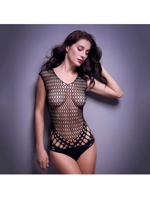Sexy Tight Mesh Conjoined Net Women Intimate Lingerie