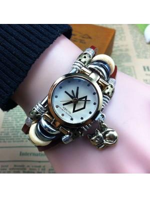 Original Cat Charm Steel Bracelet Watch