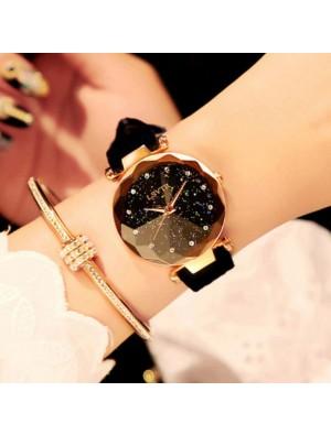 Fashion Rhinestone Belt Waterproof Shining Ladies Quartz Watch
