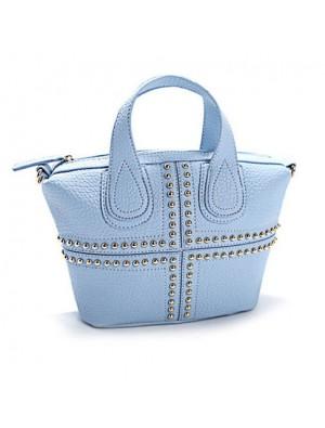 Unique Rivets Cowboys Color Messenger Bag&Shoulder Bag