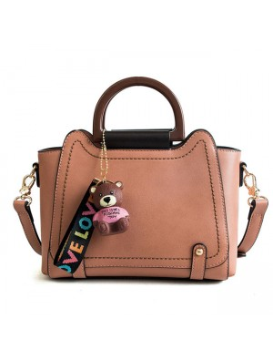 Elegant Large New Bear Decor Women Handbag Shoulder Bag