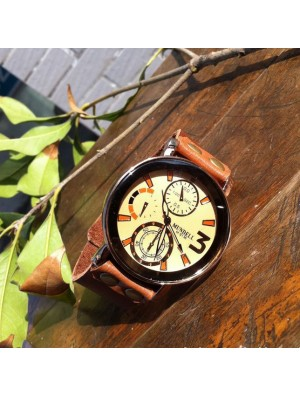 Retro Handmade Man Wrist Watch