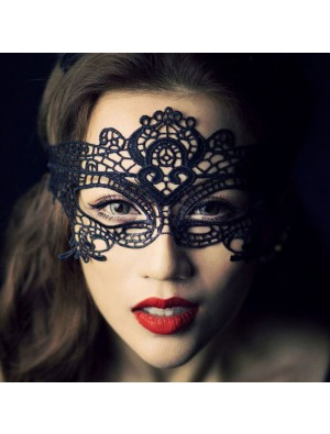 Sexy Queen Party Hollow Eye Mask Princess Lace Mask Nightclub Cat Lingerie