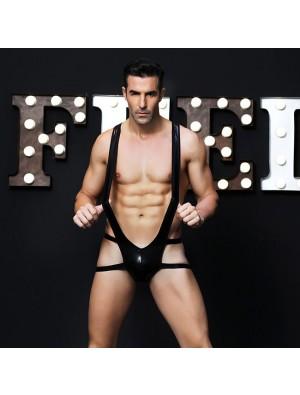 Sexy Temptation Nightclub Bar Alternative Performance Clothing Siamese Uniforms Man Conjoined Lingerie