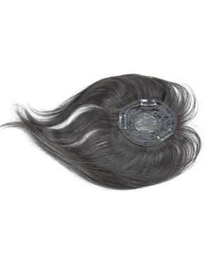 Straight Virgin Human Hair 8 Inch Lace Closure