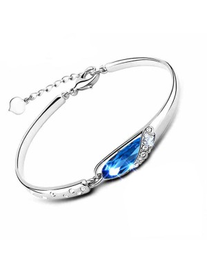 Elegant Diamond Crystal Bracelet