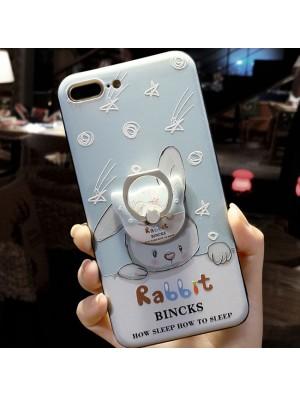 Sweet Rabbit Shooting Stars Iphone 6/6s/6 plus/6s plus/7/7 plus Iphone Cases