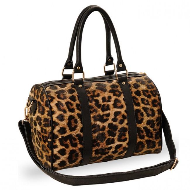 Leisure Elegant Leopard Handbag Amp Shoulder Bag Fashion
