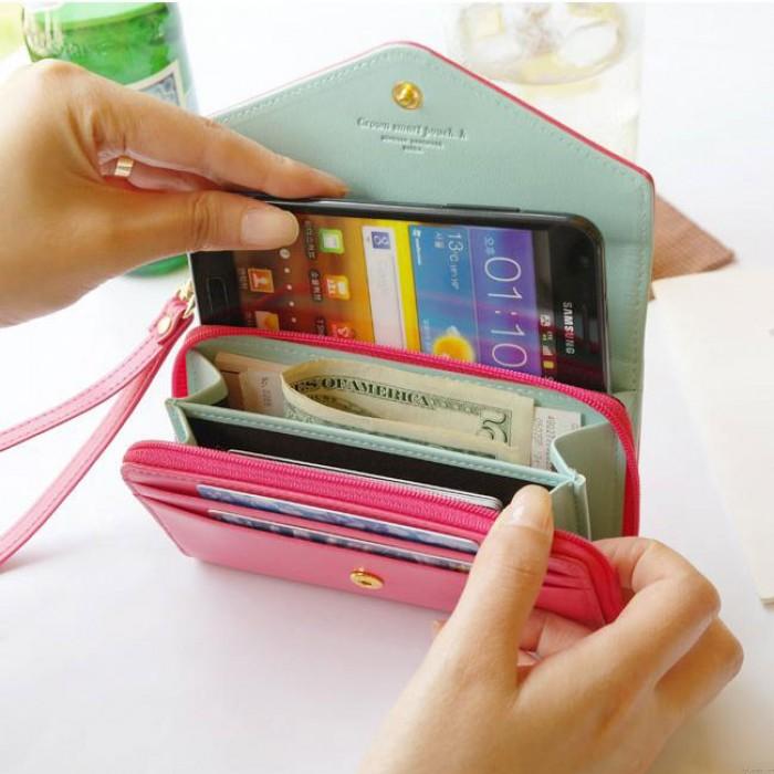 Iphone Crown Wallet Multifunctional Phone Wallet
