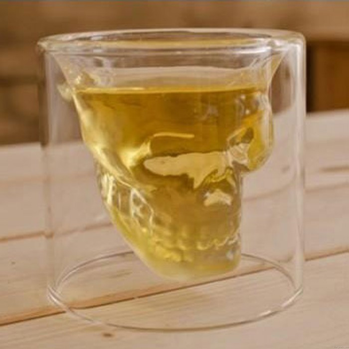 Creative Skull Shot Imprisoned Pirate Vodka Glass Cup
