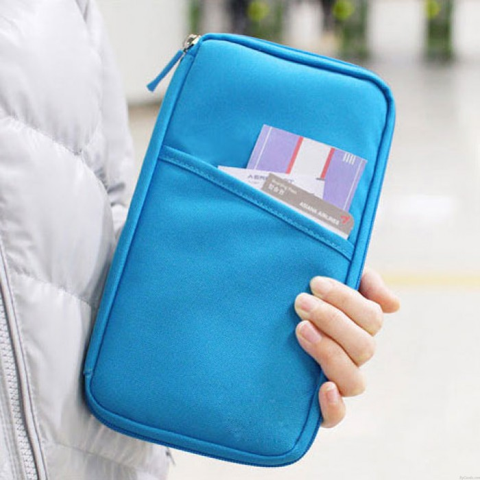 Useful Pure Travelling Clutch Bag