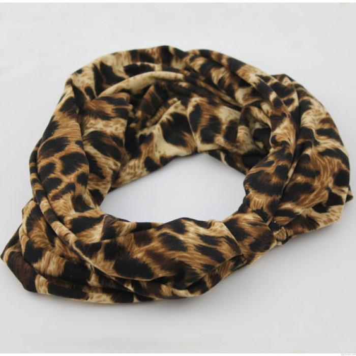 Sexy Smoked Leopard Printed Hair Band Headband