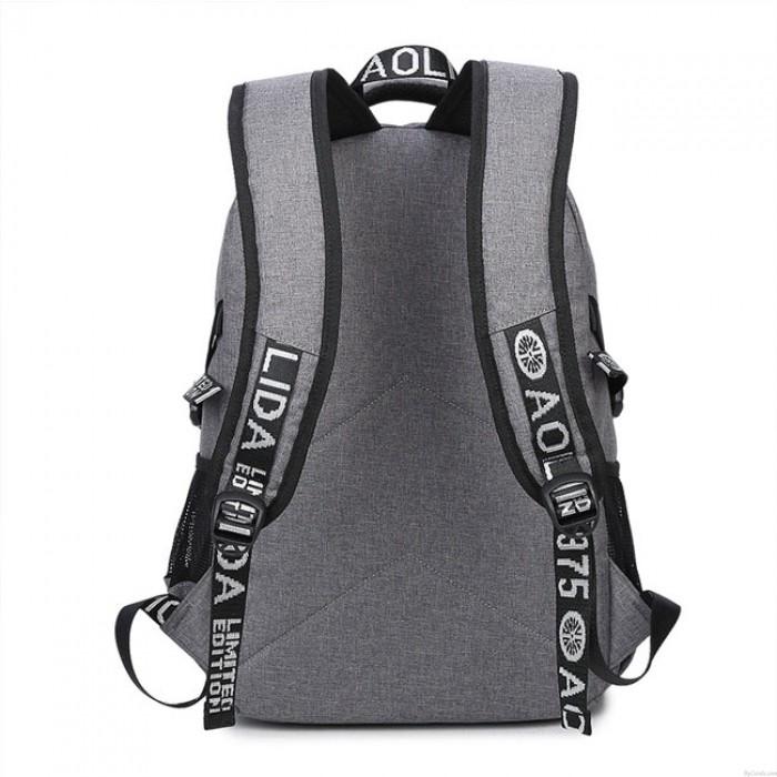 Leisure USB Charging Business Bag Large Travel Sport Backpack Men Backpack
