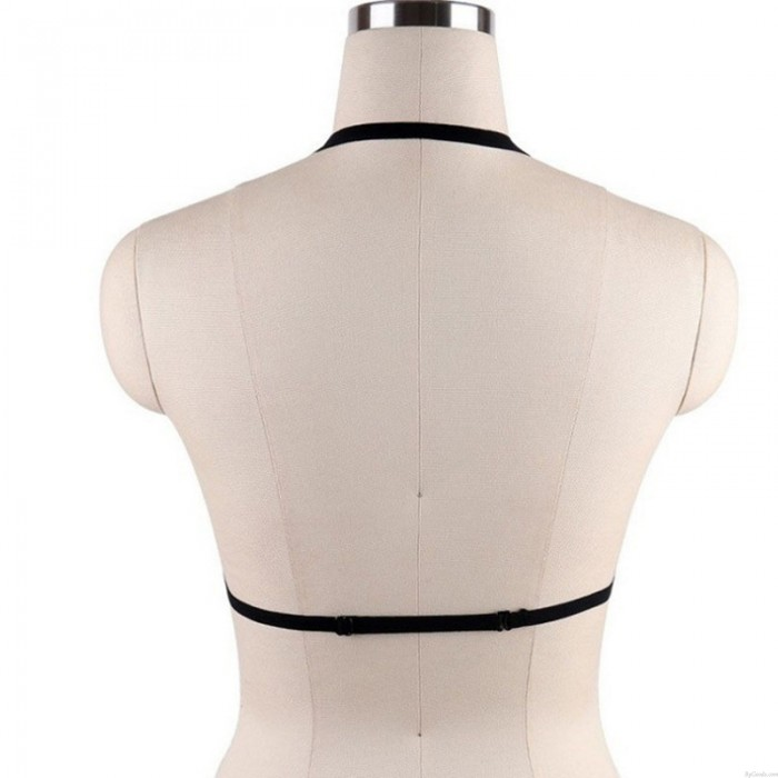 Sexy Criss-Cross Bandage Camisole Bra Push Up Bra Underwear Tops Nipple Women's Lingerie