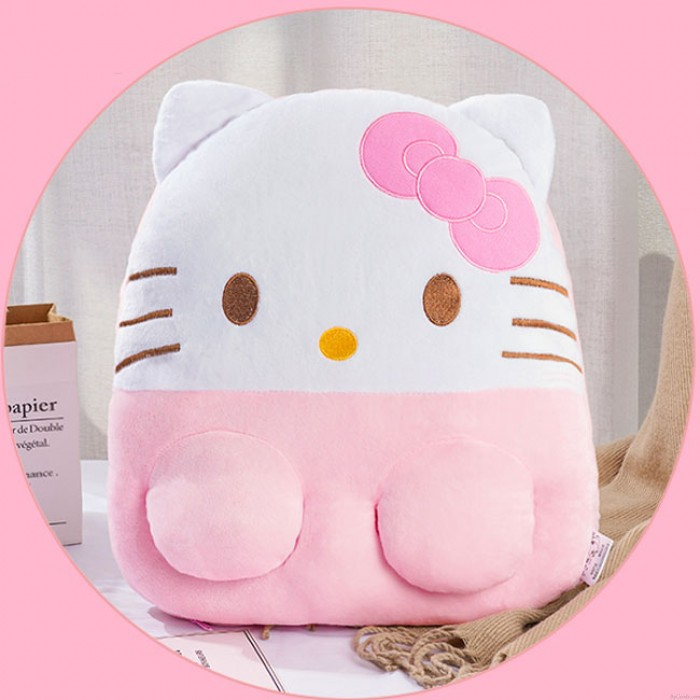 Cute Pillow USB Office Winter Warmer Monkey Cat Kitty Pig Cartoon Animal Hand Foot Warmer