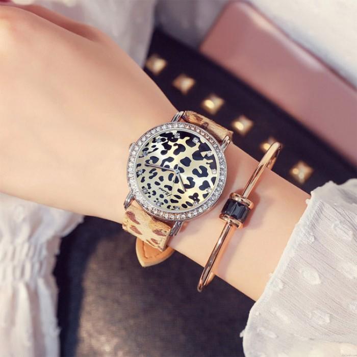 Unique Beautiful Leopard Print Watch