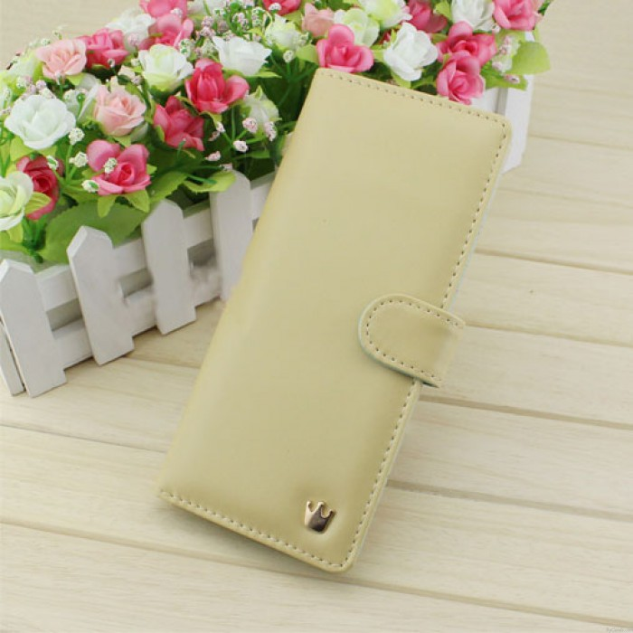 Elegant Pure Multifunction Crown Wallet Billfold