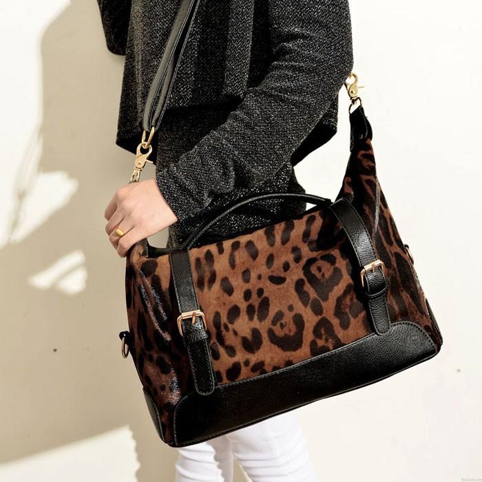 Fashion Sexy Leopard Handbag & Shoulder Bag