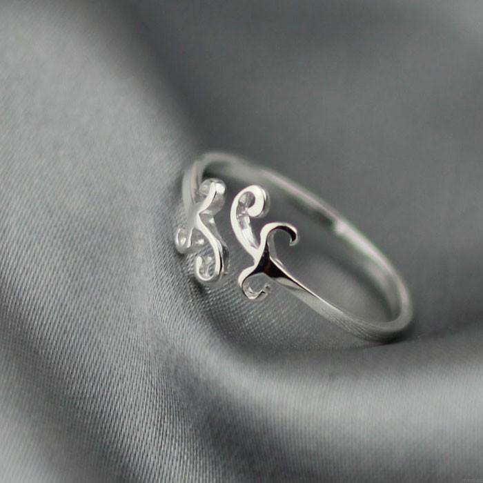 Sweet Simple Cloud Silver Ring