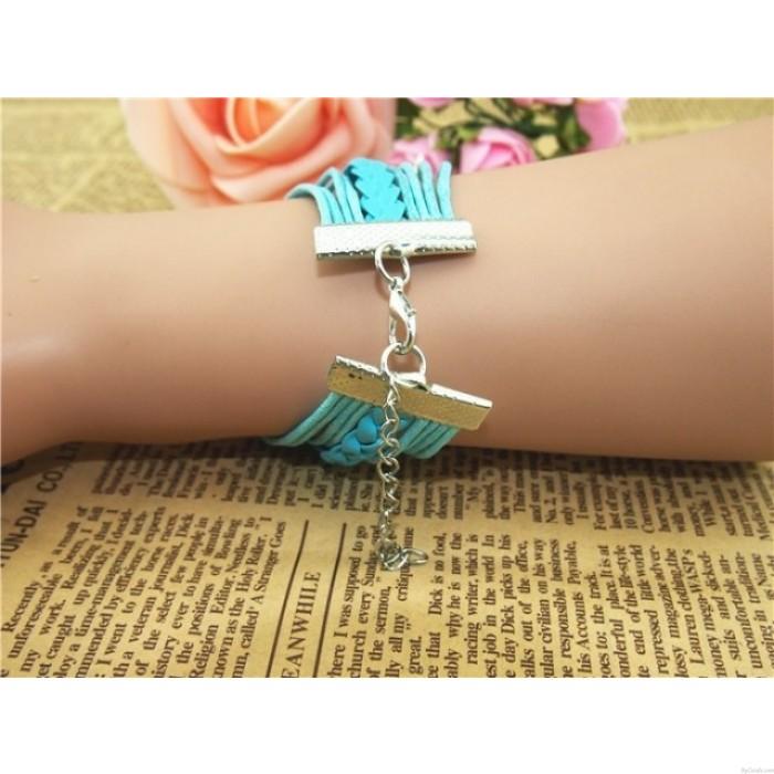 Cute Owl Arrow Best Friend Infinity Bracelet