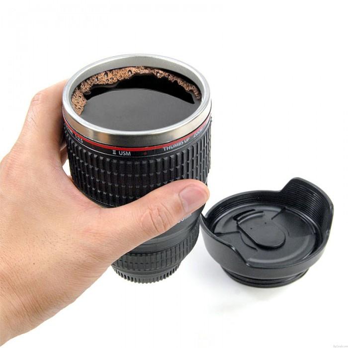Creative Travel Camera Lens Mug