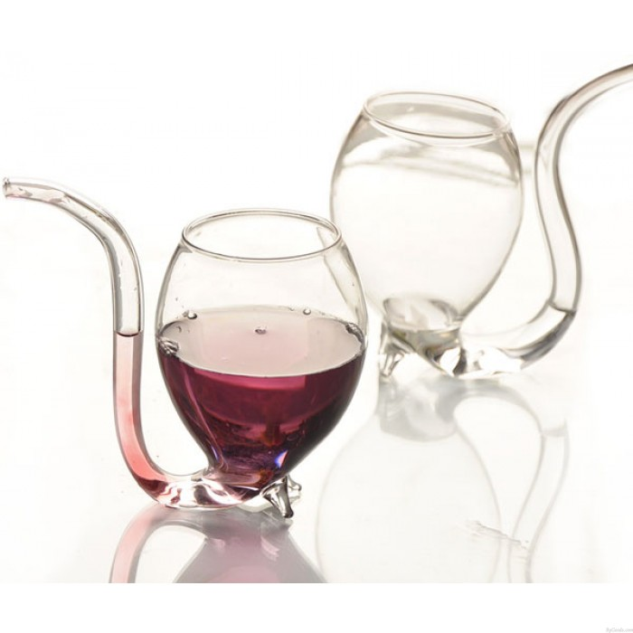 Crystal Clear Vampire 300ml Wine Glass Cup