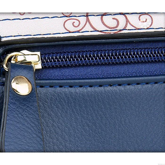 Retro British Style Clock Letter Handbag Shoulder Bag