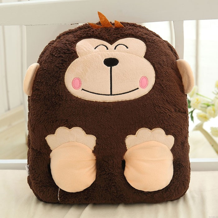 USB Charging Warm Shoes Monkey Elephant Foot Warming Warmer