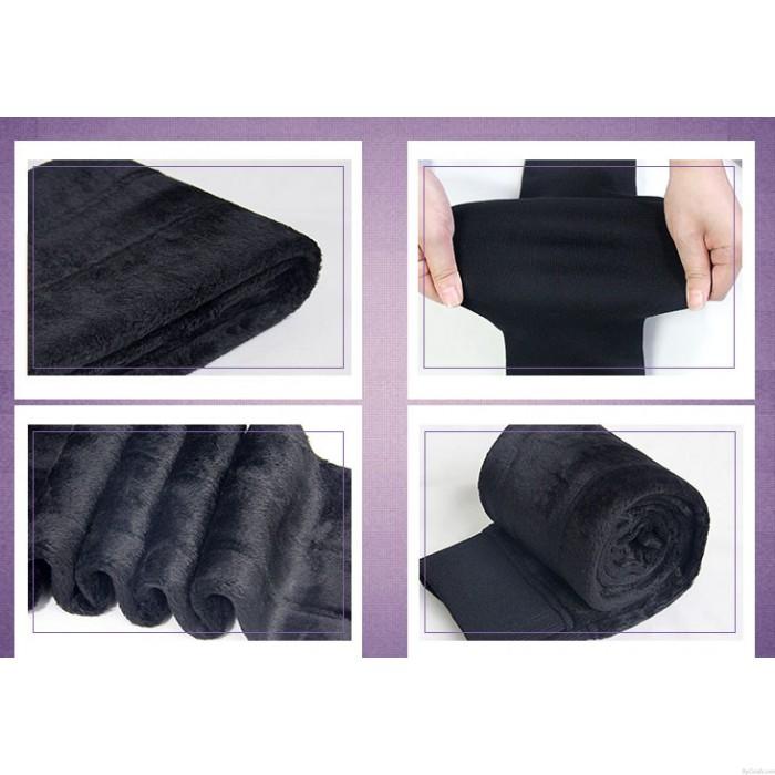 Winter Outer Wear Large Size Women's High Waist Trousers Pants Leggings