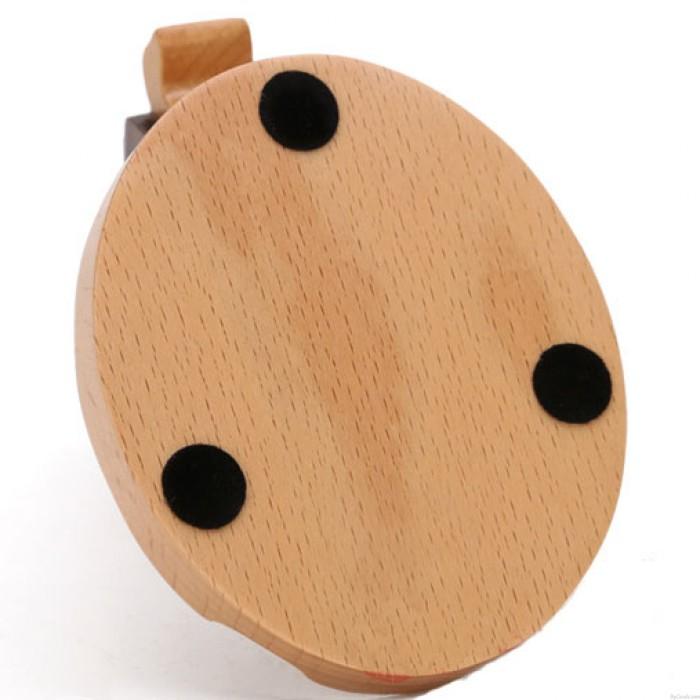 Practical Gift Cute Wood Horse Mobile Phone Holder
