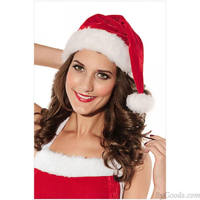 New Velvet Small Ceremony Christmas Hat