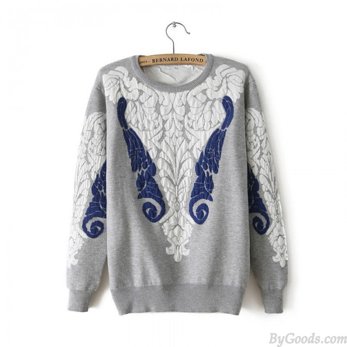 Vintage Baroque Palace Style Lace Sweater&Cardigan