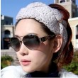 Fashion Twisted Spiral wool hair band knitted headband