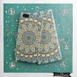 Coque Coque Coque Vintage Iphone 6 S Plus Impression Bleu