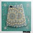 Coque Coque Coque Vintage Iphone 6 S Plus Impression Bleu