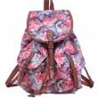 Loisir Rose Sac à dos du Collège Floral Fleur Sacs à dos en toile pour sac d'école