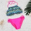 Pop Wave Printed Swimsuit Sexy Bikini Swimwear Bathingsuit