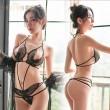 Sexy Dentelle Style d'ailes d'ange Culotte papillon creuse Lingerie pour femmes réunies
