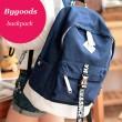 Mode Dot Toile Computer Bag Sac de voyage Cartable Sac à dos