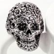 Punk Classique Sculpture Crâne Bague
