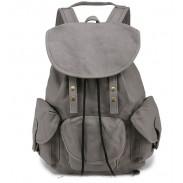 Sac à dos trois poches de loisirs étudiant sac à dos de voyage d'étudiant
